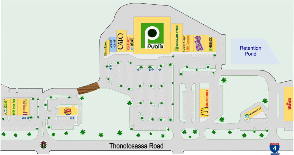 PCX available site plan